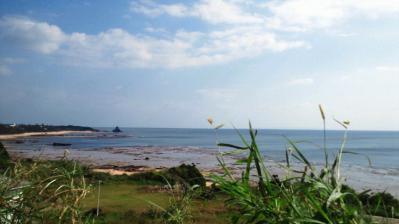 平穏な土浜1