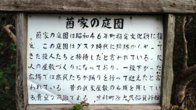 薗家の庭園8