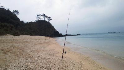 今朝の釣り風景3