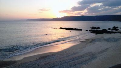 太平洋の夕日3
