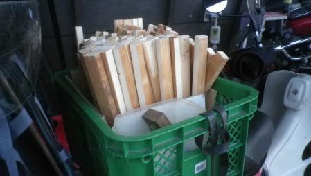 乾燥棚作り