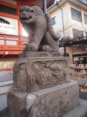 阿形の石虎像