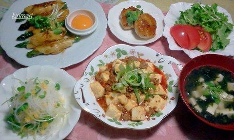 2012-05-30 19.02.48麻婆豆腐.jp夕飯