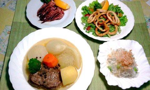 2012-06-09 18.45.13夕食