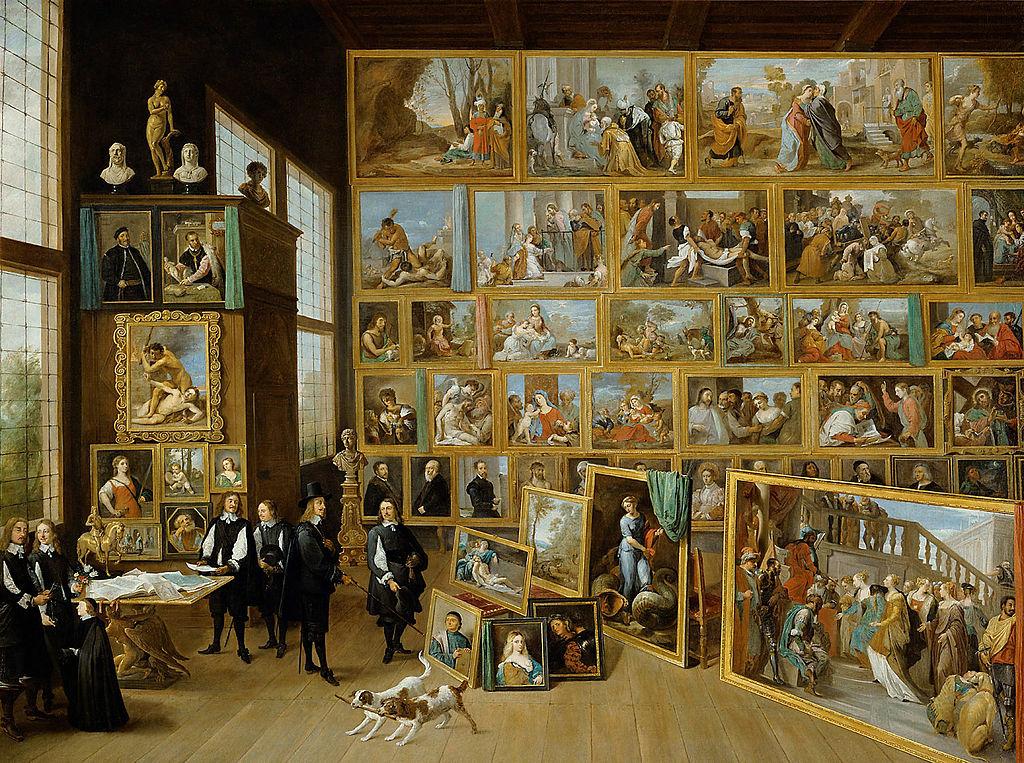 ダフィット・テニールスⅡ世レオポルト・ ウィルヘルム大公の画廊美術史美術館