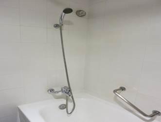 バスタブとハンドシャワー