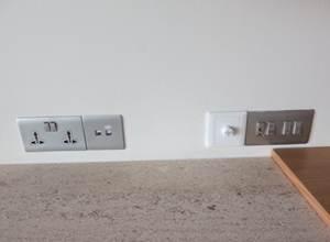 マルチコンセントと照明コントロール