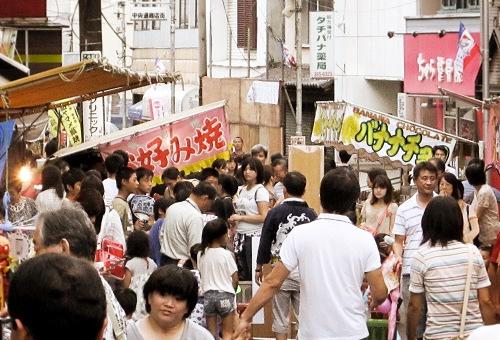 三ツ境商店街夏祭_通り