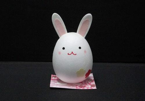 うさぎ人形(卵型)