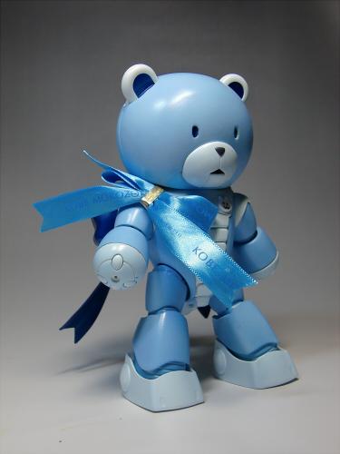 青いクマ・・・ッガイ03