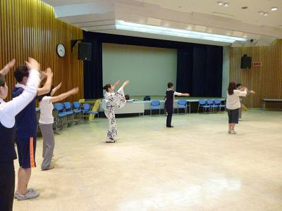 山口総踊り練習4