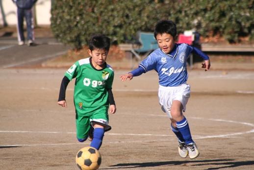 U8 交流試合2013.12.15