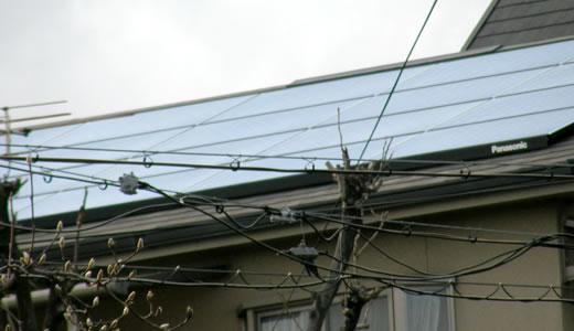太陽光発電パネル取り付けを見に行った(2)