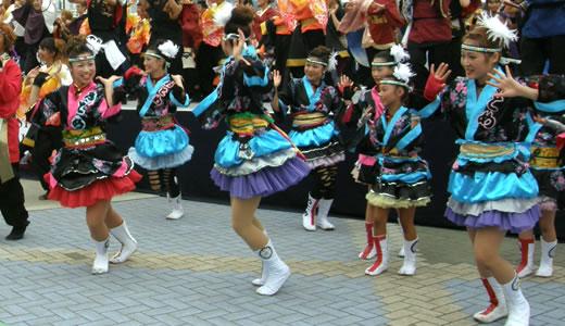 神戸よさこい祭2012(3)-1