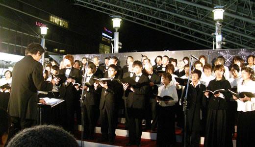 第九コンサート@大阪ステーションシティ
