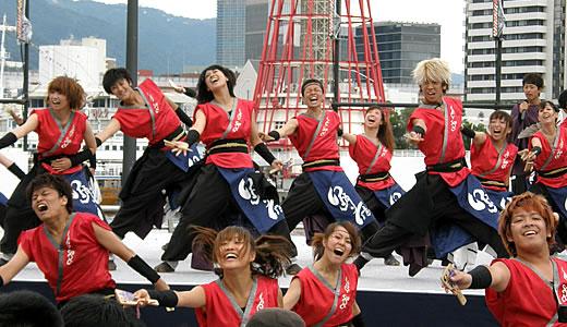 神戸よさこい祭2012