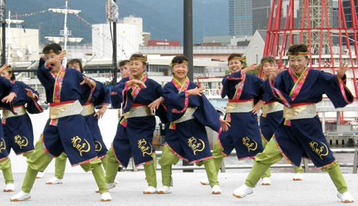 神戸よさこい祭2012(2)-1