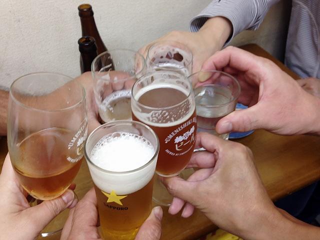 定例の兵庫下町飲み会。今回も大盛況でした!
