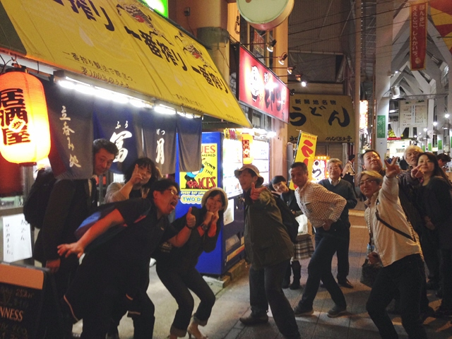 旧『神戸立ち呑み文化研究会』 二次会は新開地冨月へヽ(^o^)丿