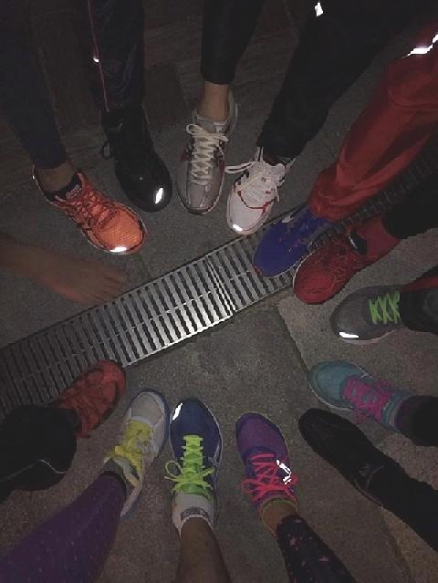 11月末のメリパナイトラン。西神戸マラソンのええ練習になりました!