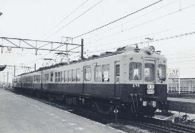 別府駅の270形