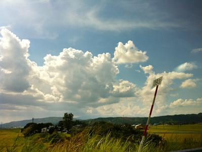 国道7号線_鳥海山