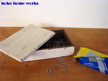 リメイク小箱+文具