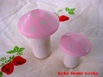 鉄キノコ pink