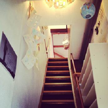 あけたて 階段