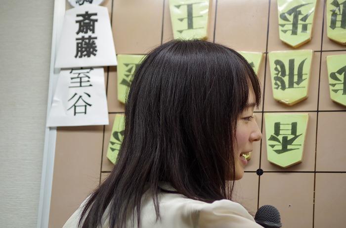 ついたて将棋の聞き手は室田女流初段