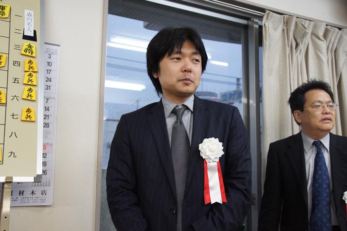 前々日に王位挑戦を決められた藤井九段