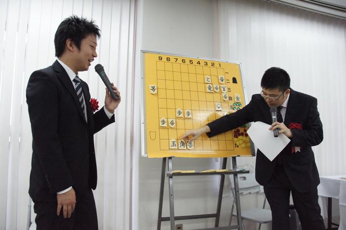 船江五段と下野五段の「楽しく、優しく、強くなる、将棋上達講座」