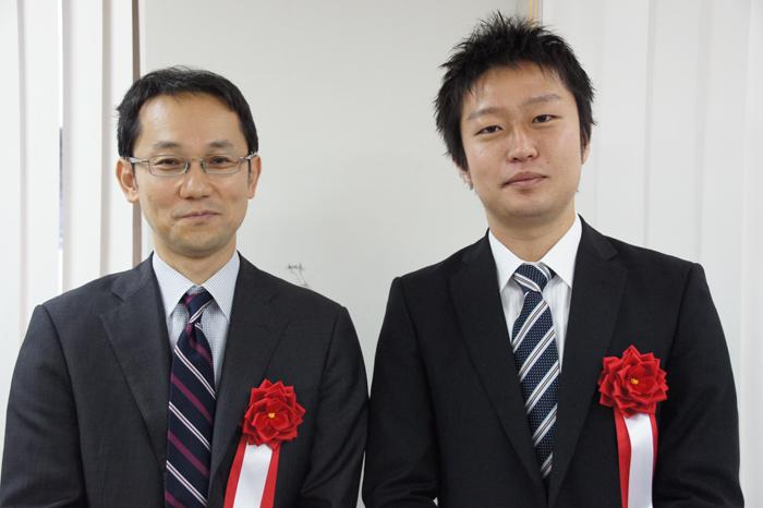 井上先生&船江先生