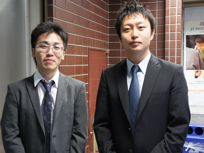 菅井先生とこの日の関西対局で、唯一のプロ側勝者となられた船江先生