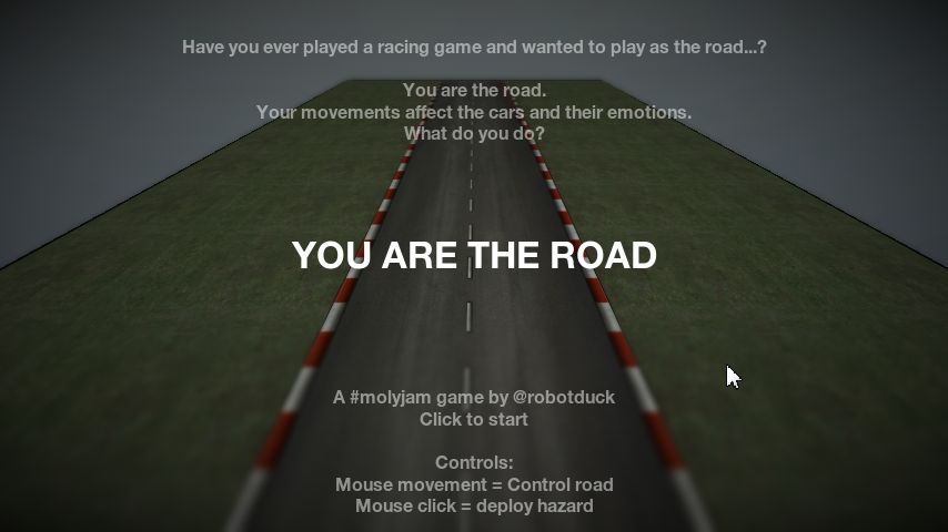 You Are The Road title