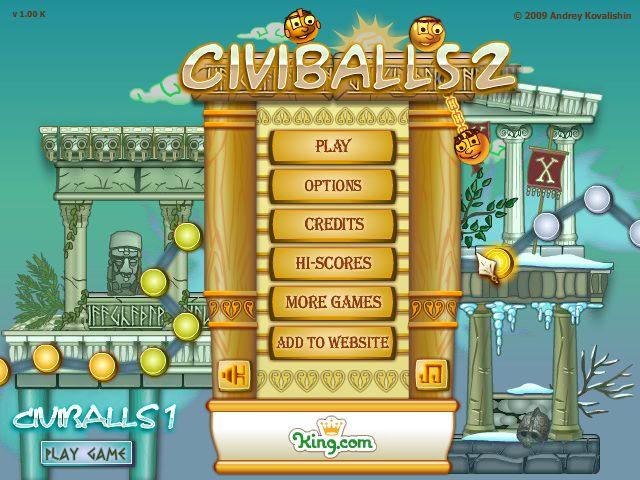 Civiballs 2 title