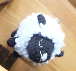 編み物ひつじ