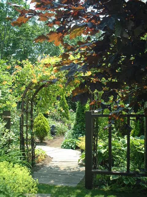 夢想の庭ゲート