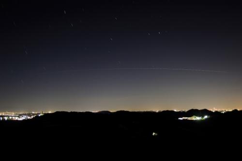 ホテル浦島磯で双子座流星群