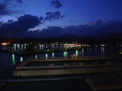 ホテル浦島の夜景1