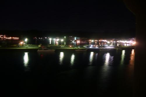 ホテル浦島の夜景2