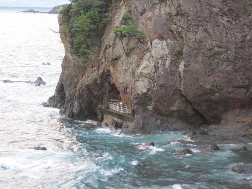 ホテル浦島忘帰洞からの眺め3