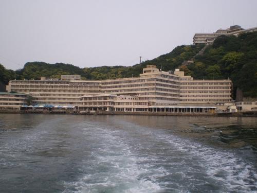 ホテル浦島をあとに