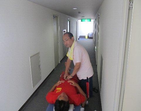 腹部の治療