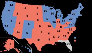 (画像)2012年アメリカ大統領選挙議席獲得状況