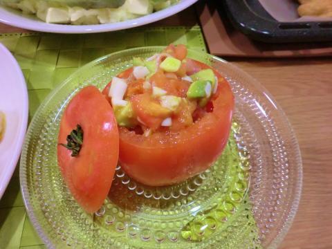 トマトのパーティーファルシ