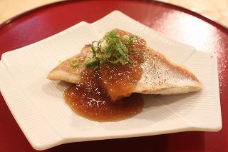 白身魚のポアレ おろしポン酢あん1(元)