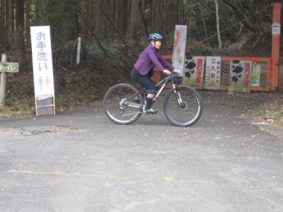 試乗したのは70万円のマウンテンバイク