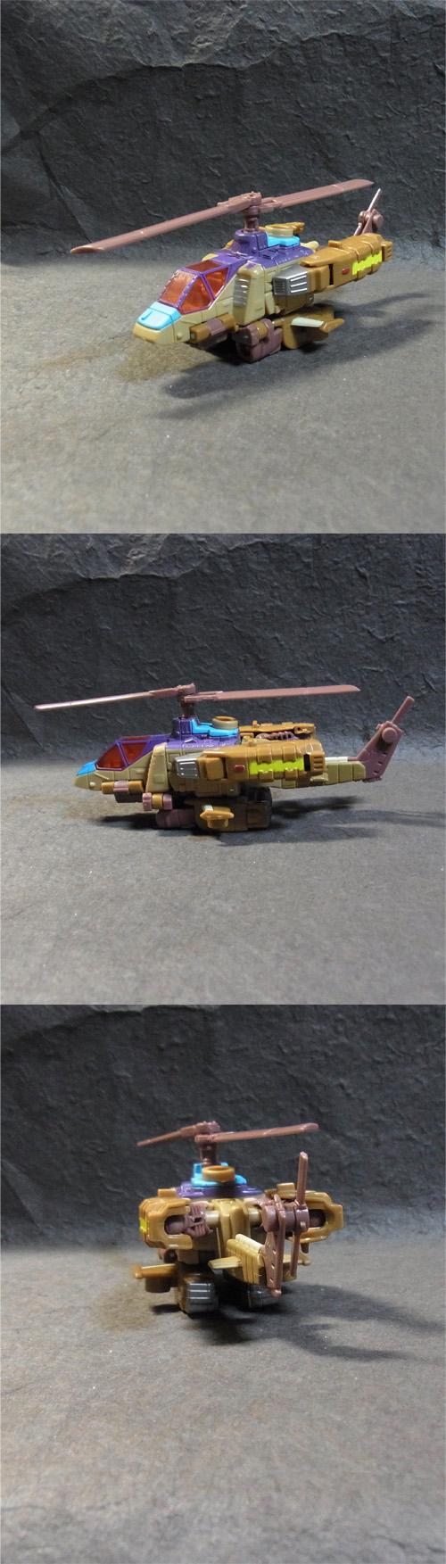 スウィンドルヘリ型3面
