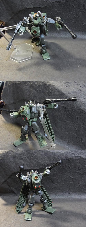 戦車型アクション